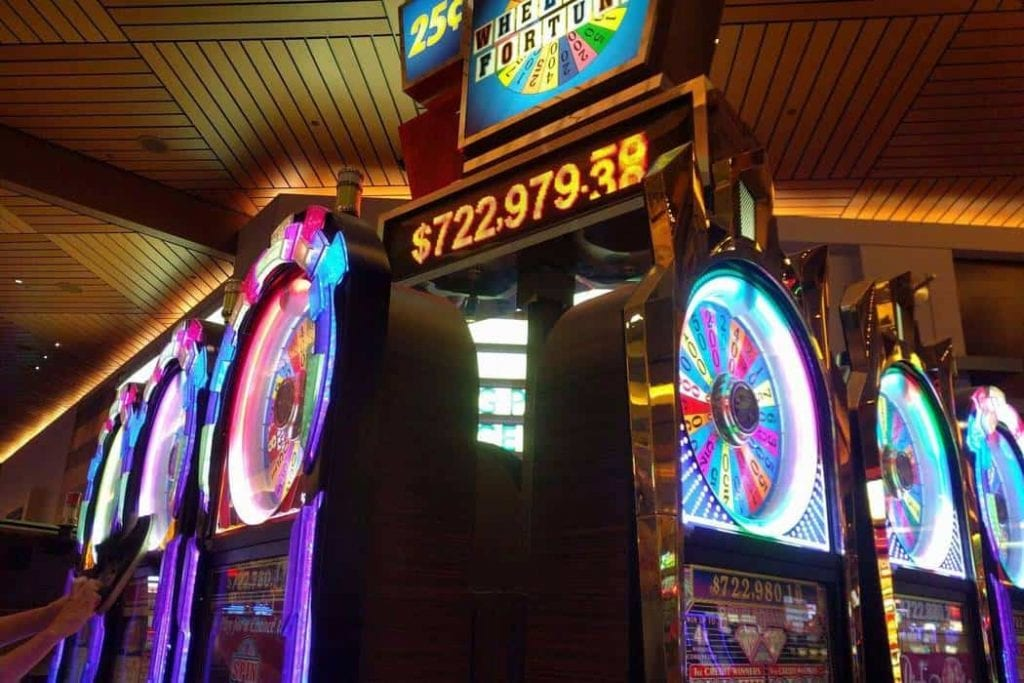 wheel of fortune machines