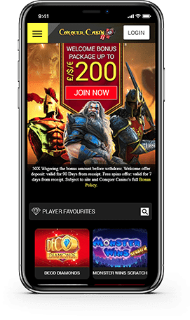 Conquer Casino Mobile Gaming