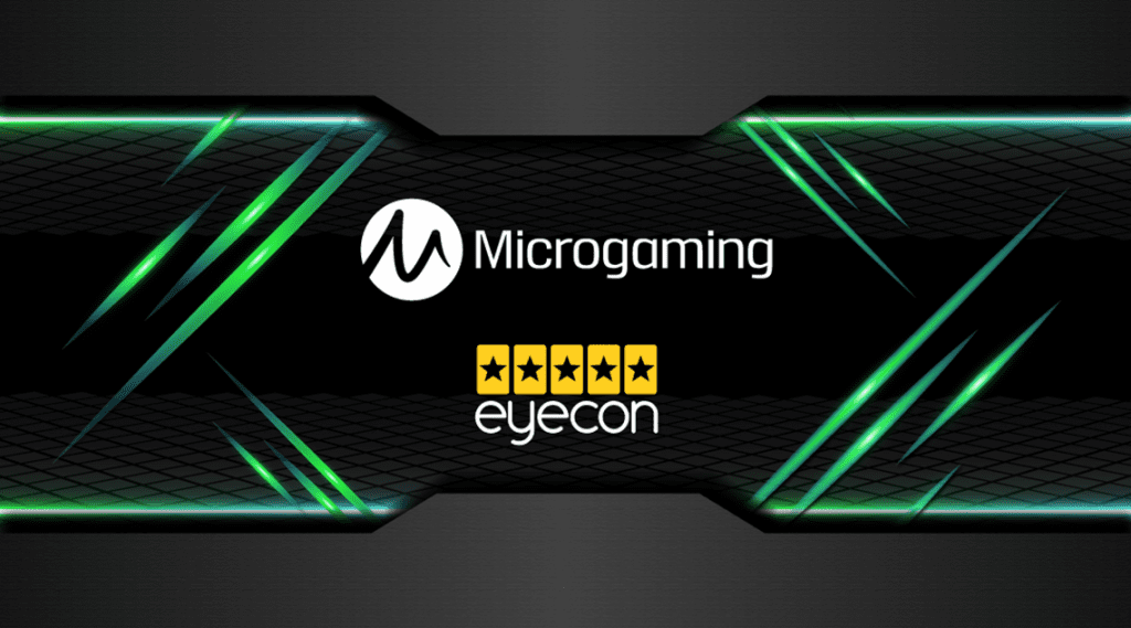 Eyecon Steps Up with a New Deal with Microgaming