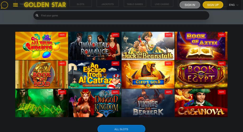 star casino game