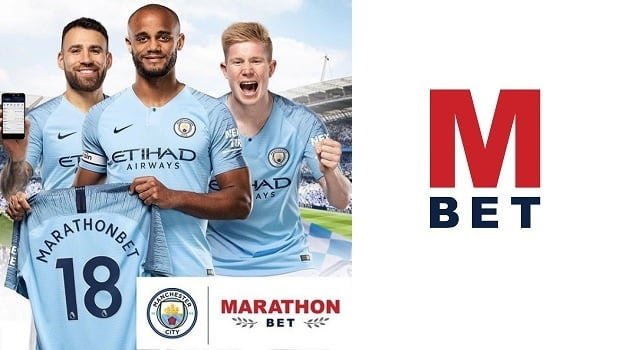 MarathonBet Equipped with Manchester City Blackjack
