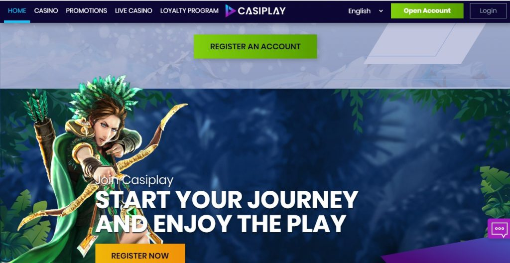 casiplay casino register link