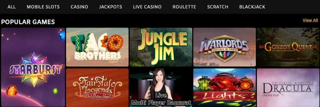 sparkle slots casino layout