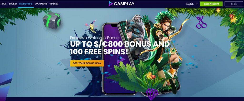casiplay casino promotions