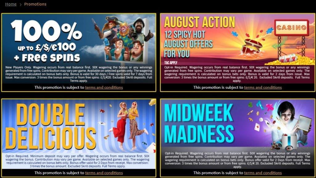 sparkle slot casino promotions