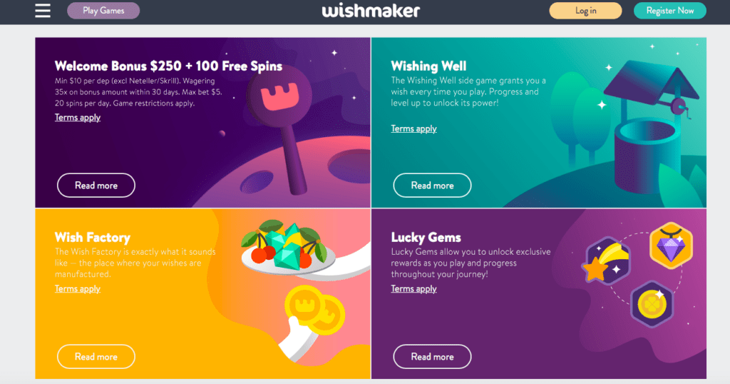 Wishmaker Casino Review - NZ 2019