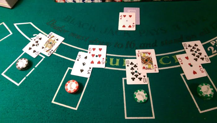 blackjack round