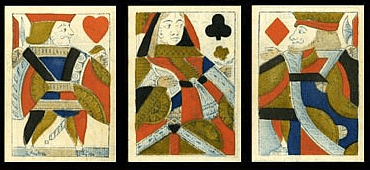 ancient version of the playing cards