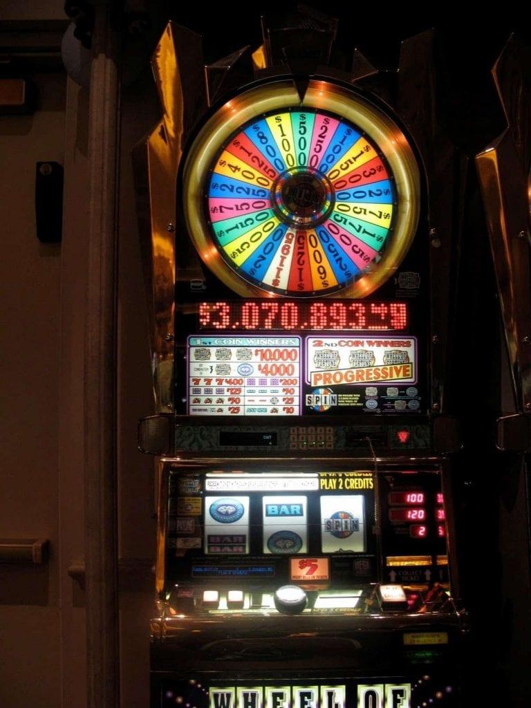 wheel of fortune machine