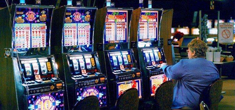 land-based slot machines